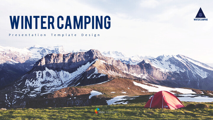Winter Camping PowerPoint Layout_01