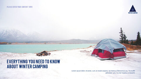 Winter Camping PowerPoint Layout_03
