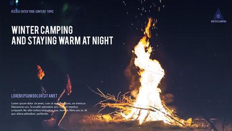 겨울 캠핑 파워포인트 레이아웃_12
