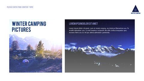 겨울 캠핑 파워포인트 레이아웃_17