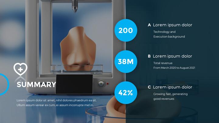 3D Bioprinting Modern PPT Templates_02