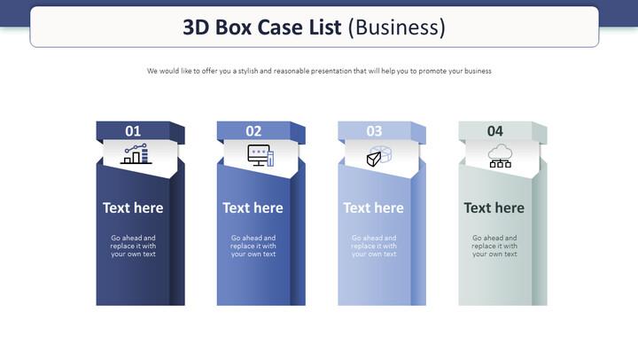 3D 상자 사례 목록 다이어그램 (비즈니스)_01