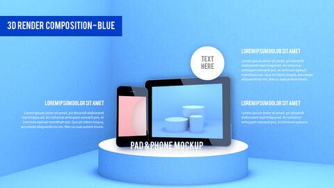 3D Render Composition Business plan PPT_03