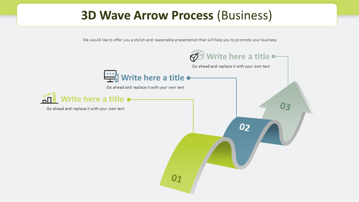 3D Wave Arrow Process Diagram (Business)_02