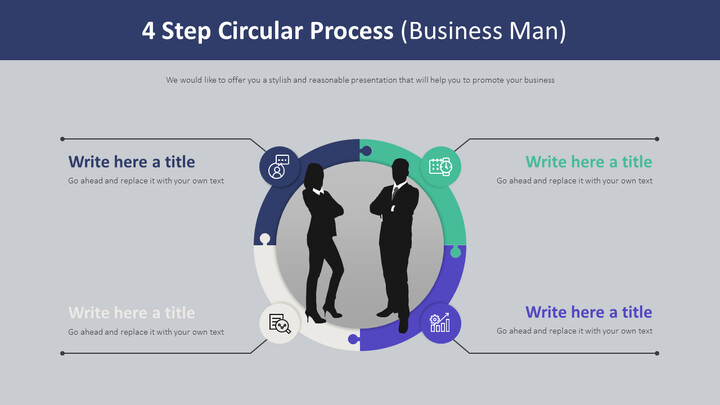 4 Step Circular Process Diagram (Business Man)_02