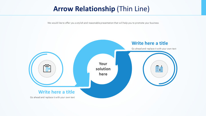 Arrow Relationship Diagram (Thin Line)_01