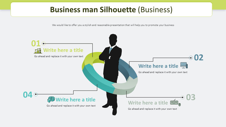 Business man Silhouette Diagram (Business)_02