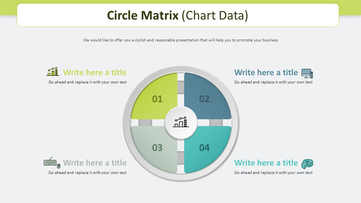 Circle Matrix Diagram (Business) PowerPoint Table of Contents_02