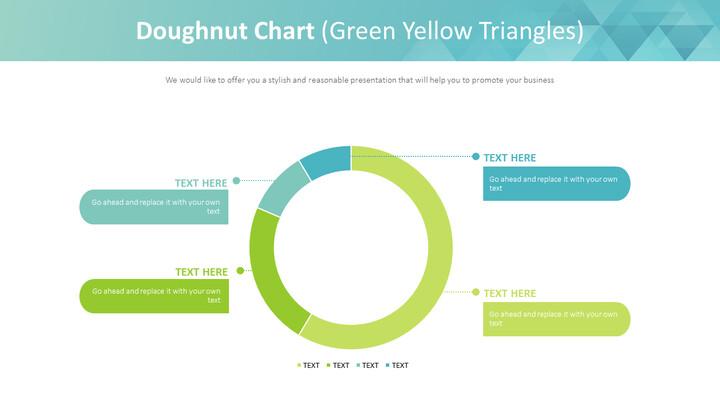 도넛 형 차트 (녹색 노랑 삼각형)_01