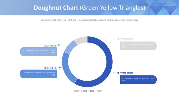 도넛 형 차트 (녹색 노랑 삼각형)_02