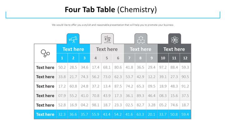 Four Tab Table Diagram (Chemistry)_01