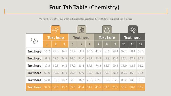 Four Tab Table Diagram (Chemistry)_02