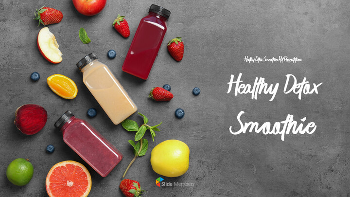 Healthy Detox Smoothie PowerPoint Slides_01