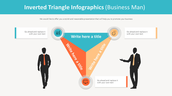 Inverted Triangle Infographics Diagram (Business Man)_01