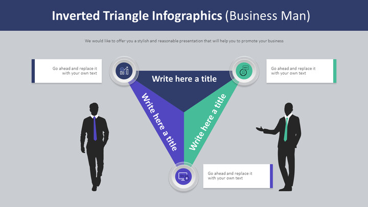 Inverted Triangle Infographics Diagram (Business Man)_02