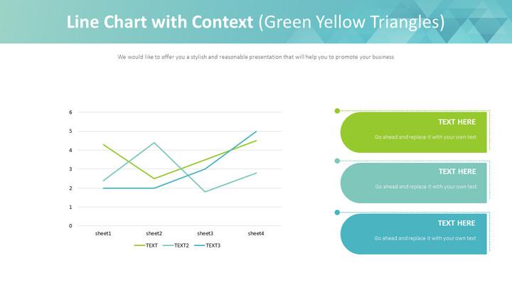 컨텍스트가있는 꺾은 선형 차트 (녹색 노란색 삼각형)_01