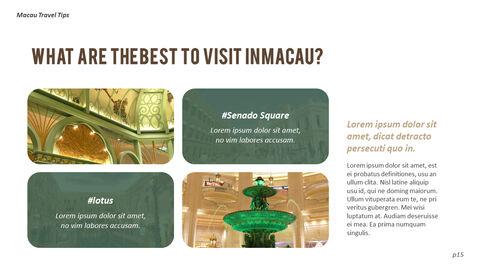 마카오 여행 PPT 테마 슬라이드_15