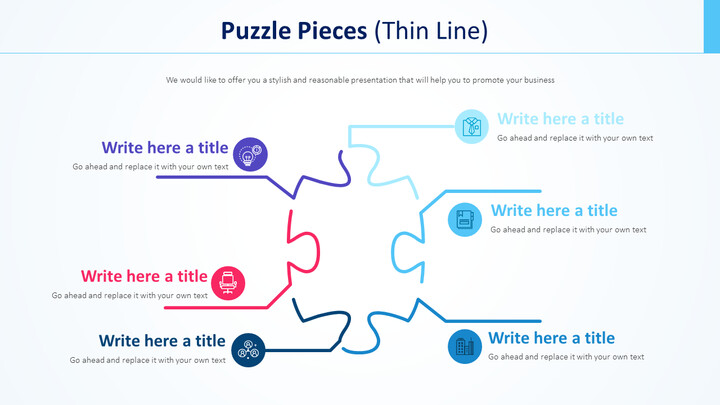퍼즐 조각 다이어그램 (가는 선)_01