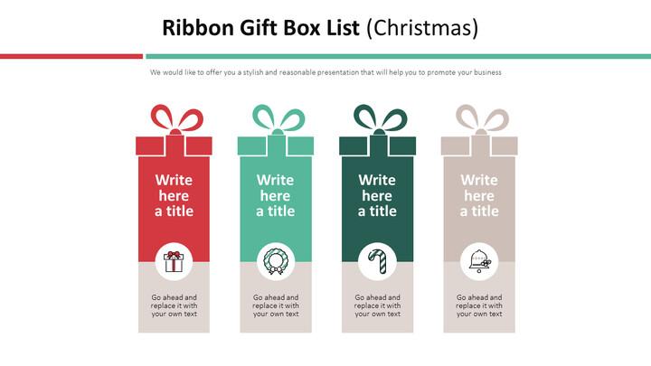 Ribbon Gift Box List Diagram (Christmas)_01