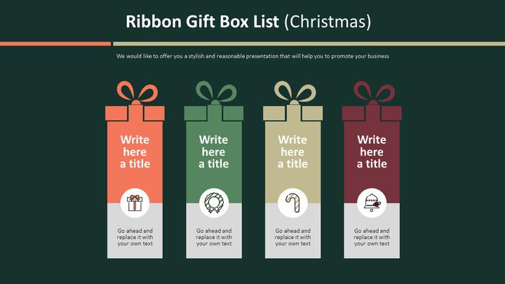 Ribbon Gift Box List Diagram (Christmas)_02