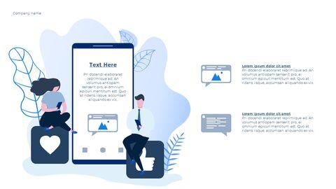 Social Network Communication Modern PPT Templates_03