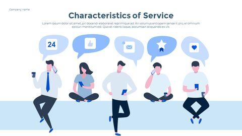 Social Network Communication Modern PPT Templates_05