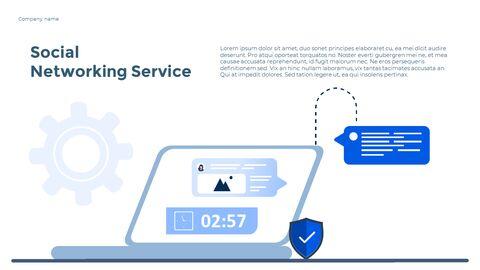 Social Network Communication Modern PPT Templates_14