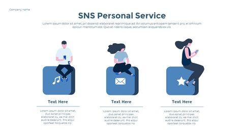 Social Network Communication Modern PPT Templates_16