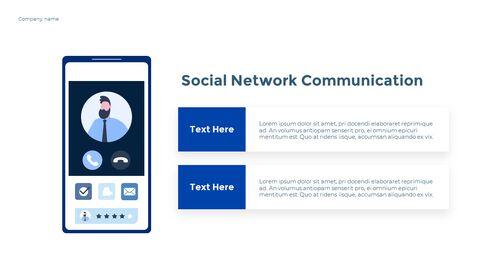 Social Network Communication Modern PPT Templates_23