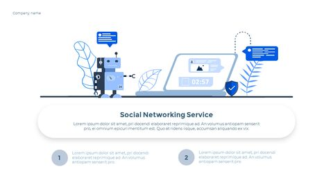 Social Network Communication Modern PPT Templates_32