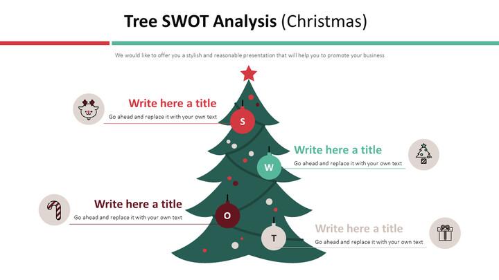 Tree SWOT Analysis Diagram (Christmas)_01