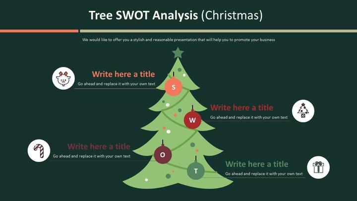Tree SWOT Analysis Diagram (Christmas)_02
