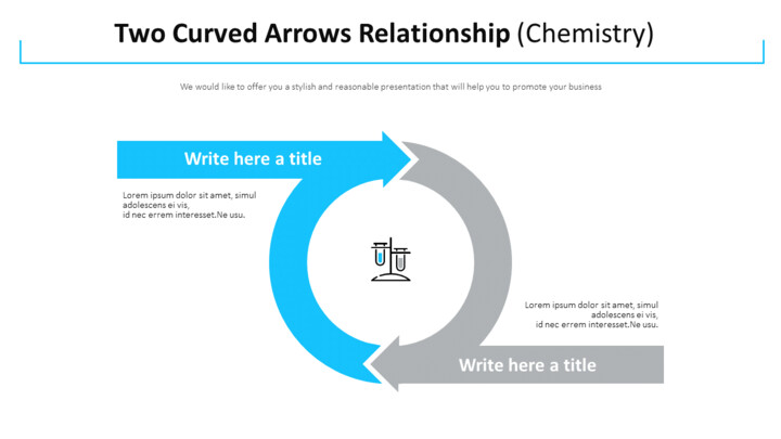 Two Curved Arrows Relationship Diagram (Chemistry)_01