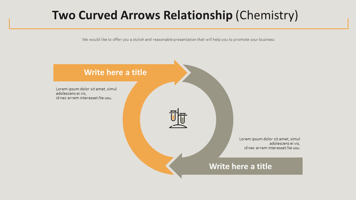 Two Curved Arrows Relationship Diagram (Chemistry)_02