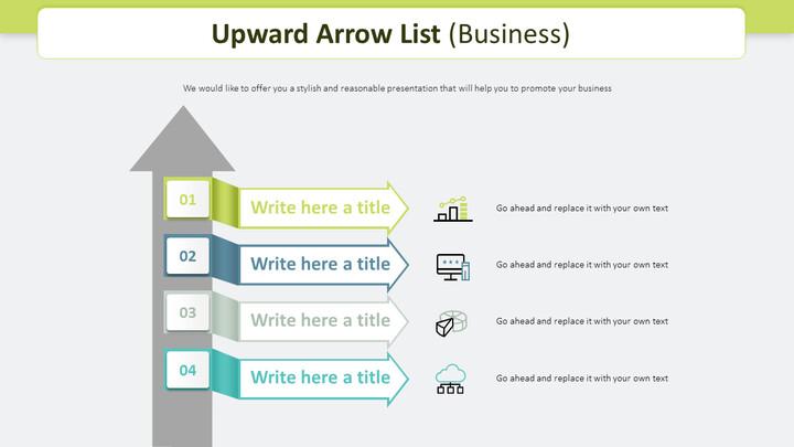 Upward Arrow List Diagram (Business)_02