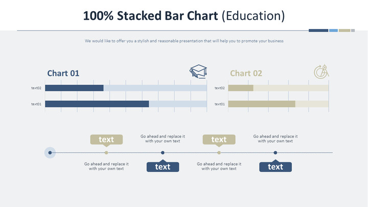 100% Stacked Bar Chart (Education)_02