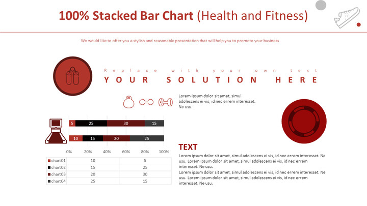 100% Stacked Bar Chart (Health and Fitness)_01