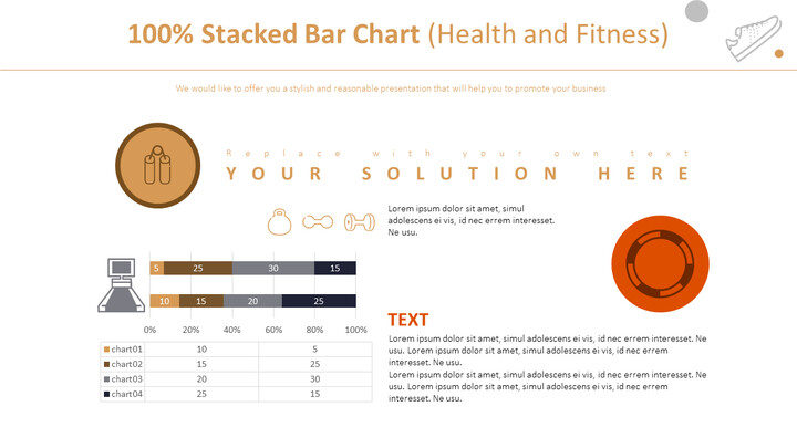 100% Stacked Bar Chart (Health and Fitness)_02
