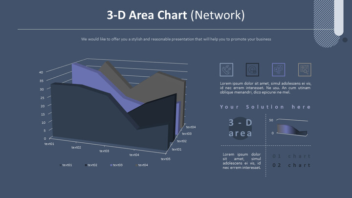 3-D Area Chart (Network)_02