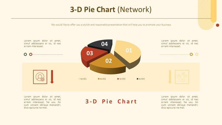 3-D Pie Chart (Network)_01