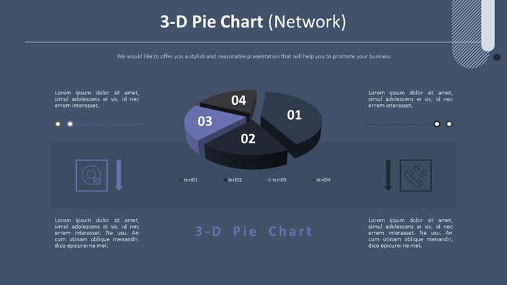 3-D Pie Chart (Network)_02