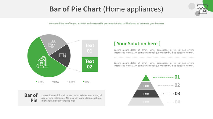 Bar of Pie Chart (Home appliances)_01