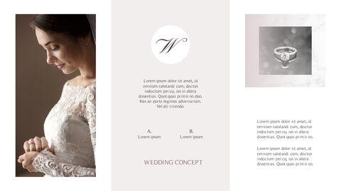 아름다운 결혼식 비즈니스 프레젠테이션 PPT_02
