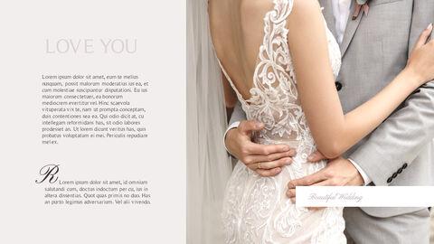 아름다운 결혼식 비즈니스 프레젠테이션 PPT_03