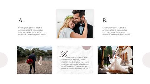 아름다운 결혼식 비즈니스 프레젠테이션 PPT_04