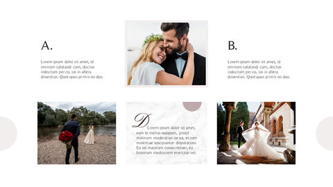 Beautiful Wedding Business Presentation PPT_04