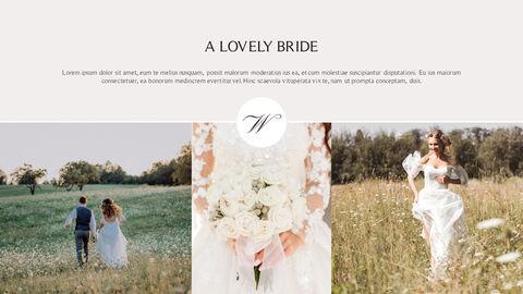 아름다운 결혼식 비즈니스 프레젠테이션 PPT_05