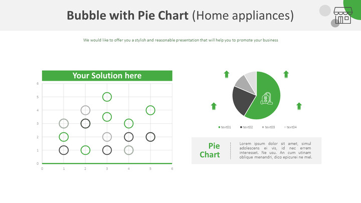 Bubble with Pie Chart (Home appliances)_01