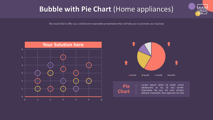 Bubble with Pie Chart (Home appliances)_02