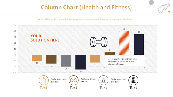 Column Chart (Health and Fitness)_02